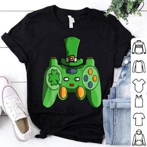 Nice Video Game Gaming St Patricks Day Gamer For Boys shirt