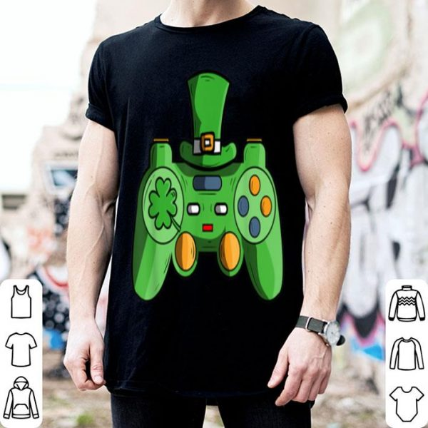 Nice Video Game Gaming St Patricks Day Gamer For Boys shirt