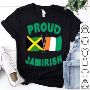 Official Proud Jamirish Saint Patricks Day Jamaican Irish shirt
