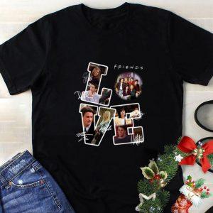 Original Friends Tv Show Love Signatures shirt