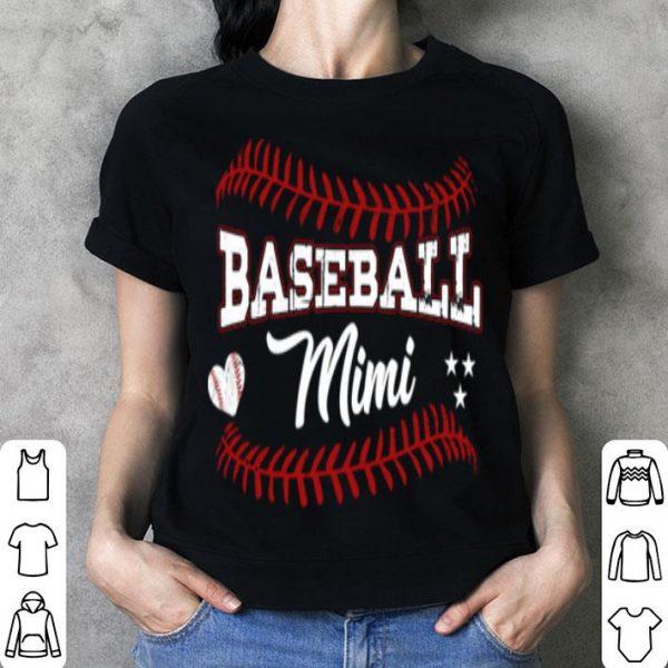 Original Pretty Baseball Mimi Softball Grandma Gift For Mother's Day shirt