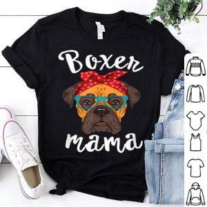Pretty Boxer Mama Puppy Mom Dog Mama Lover Gift shirt