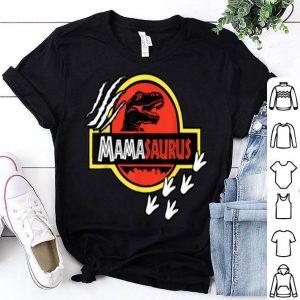 Pretty Mama Saurus Mom Dinosaur Mother's Day Jurassic Mamasaurus shirt