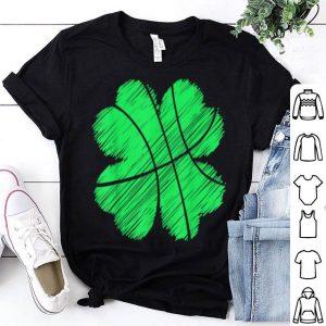 Pretty St Patricks Day Basketball Boys Kids Men Irish Shamrock Gift shirt