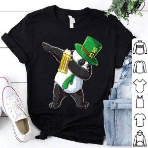 Top Dabbing Panda Leprechaun St Patricks Day Men Women Beer Gift shirt