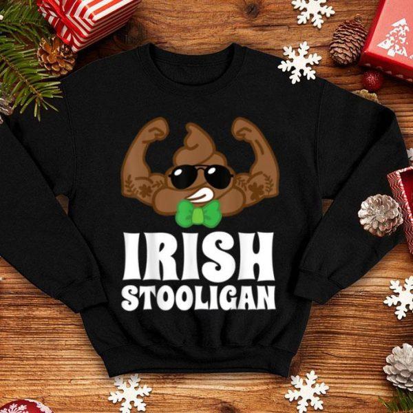 Top Irish Stooligan Poop Emoji Funny St Patricks Day 2020 Boy shirt