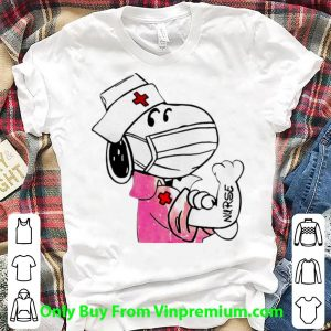 Great Snoopy Strong Nurse Mask shirt