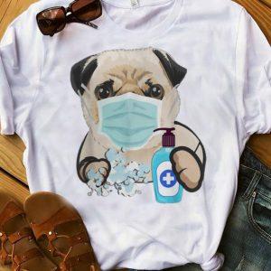 Official Pug Face Mask Handwashing Dog Lover shirt