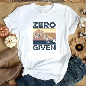 Top Fox Zero Given Vintage shirt