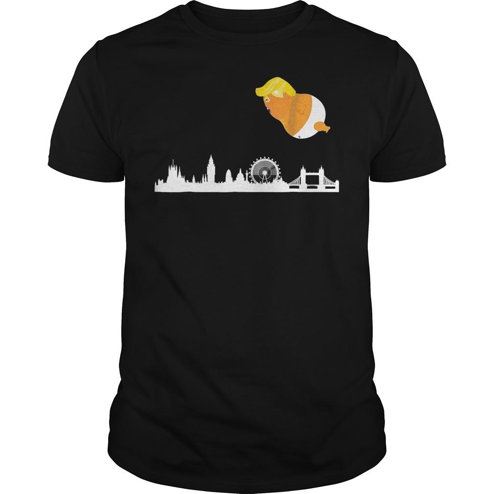 - Baby Trump Balloon London Funny Anti Trump T-Shirt