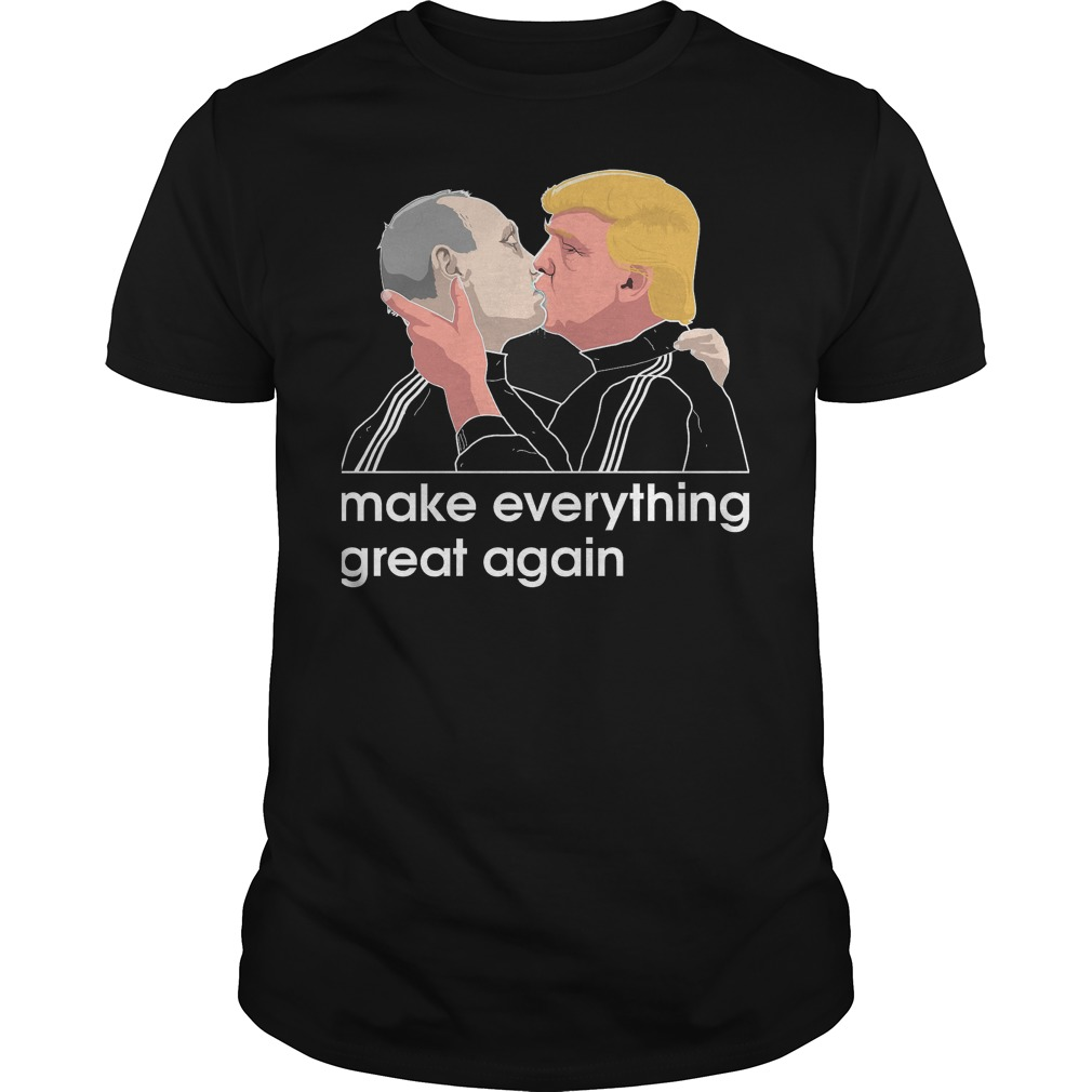 - Trump kissing Putin T-Shirt