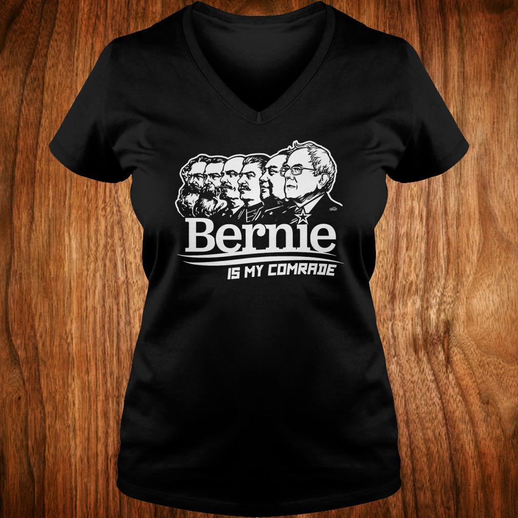 Bernie Sanders is my comrade shirt Ladies V-Neck