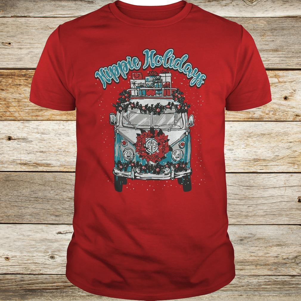 Christmas Hippie Holidays Sweatshirt Classic Guys / Unisex Tee