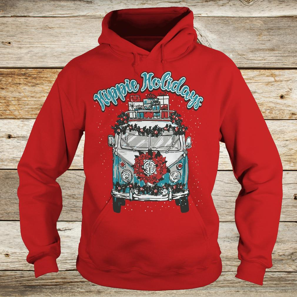 Christmas Hippie Holidays Sweatshirt Hoodie