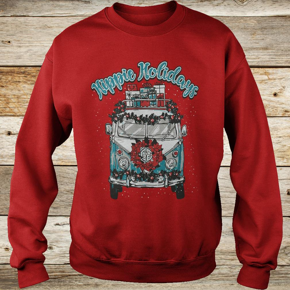 Christmas Hippie Holidays Sweatshirt