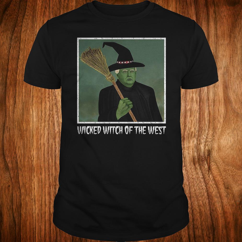 Donal Trump witch wicked witch of the west halloween shirt Classic Guys / Unisex Tee