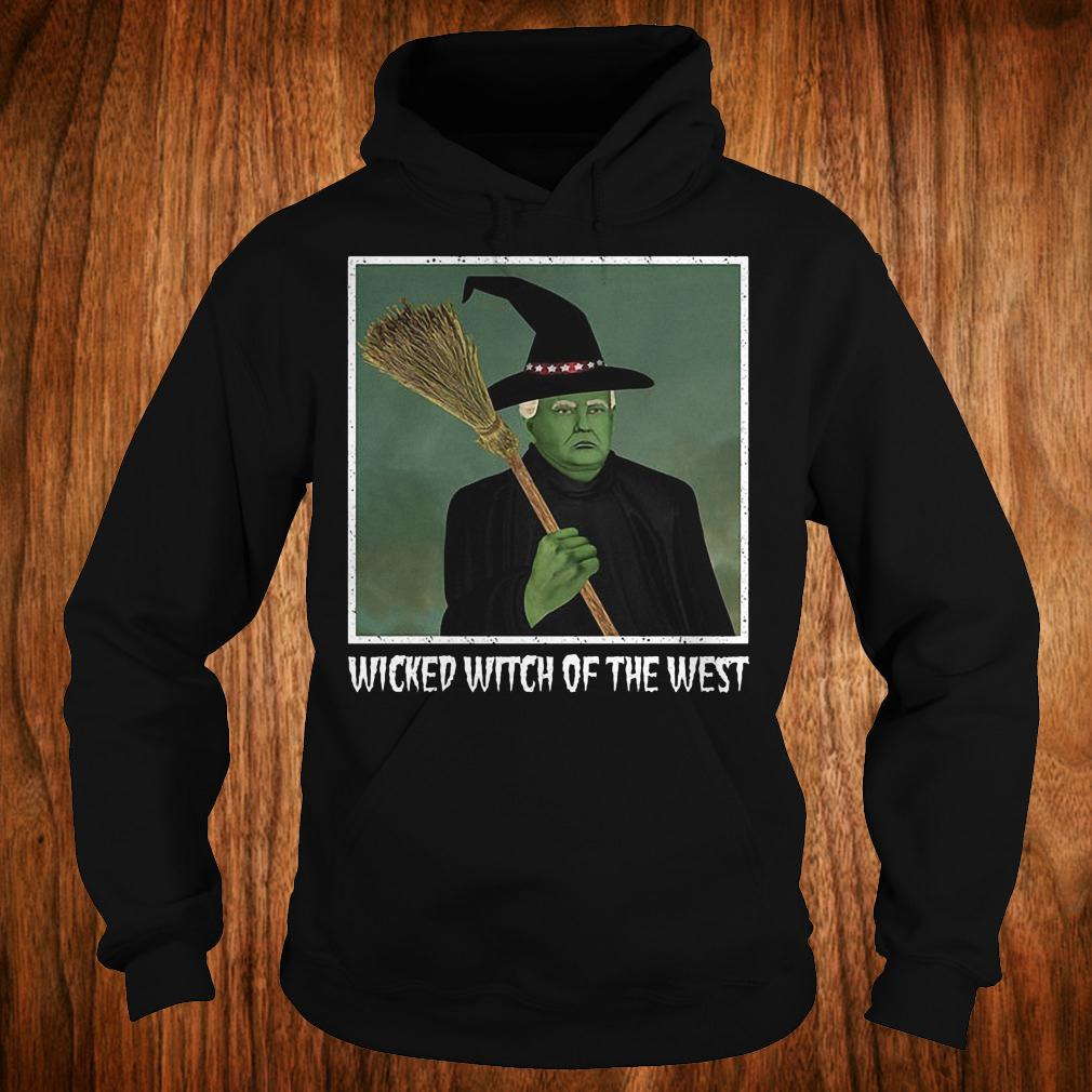 Donal Trump witch wicked witch of the west halloween shirt 1