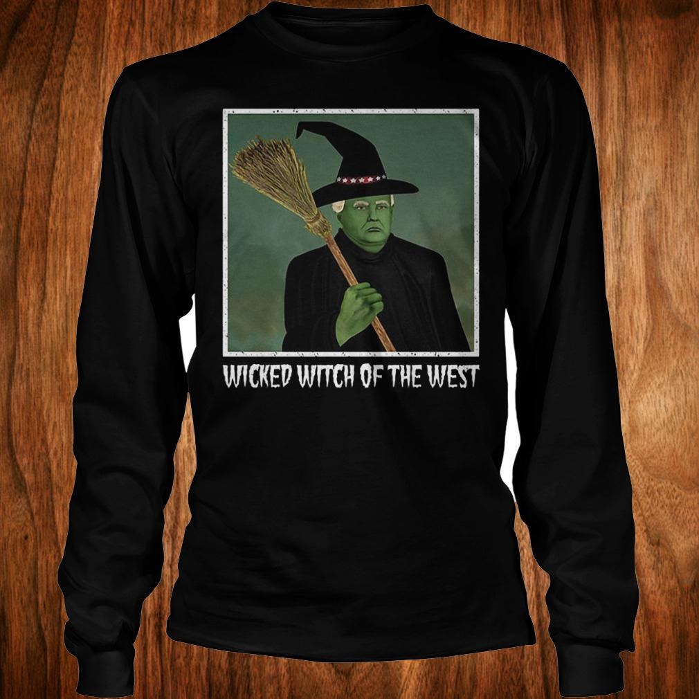 Donal Trump witch wicked witch of the west halloween shirt Longsleeve Tee Unisex
