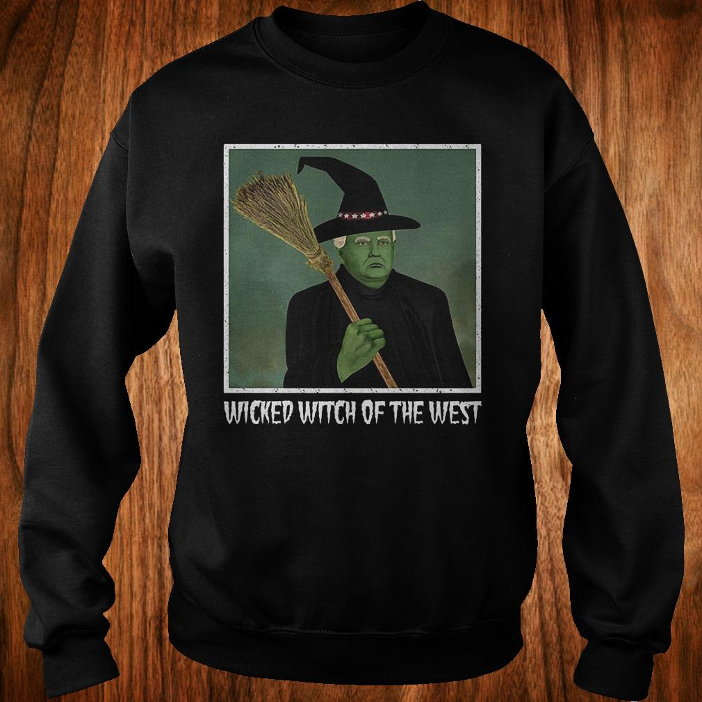 Donal Trump witch wicked witch of the west halloween shirt Sweatshirt Unisex