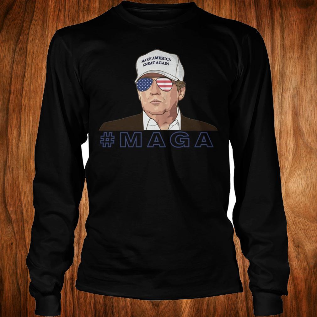 Donald Trump MAGA make America great again shirt Longsleeve Tee Unisex