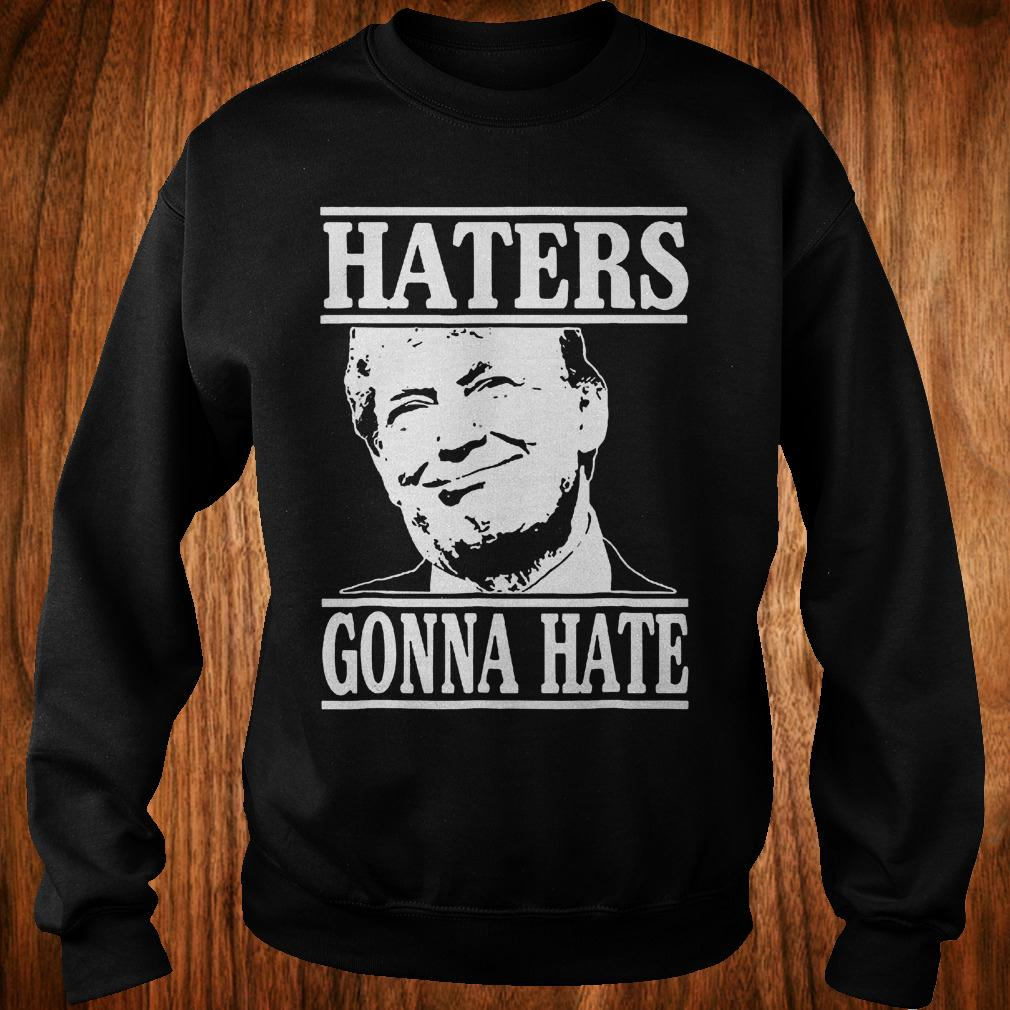 6b83f7bb7 Premium Hoodie - Funny haters gonna hate Donald Trump president shirt