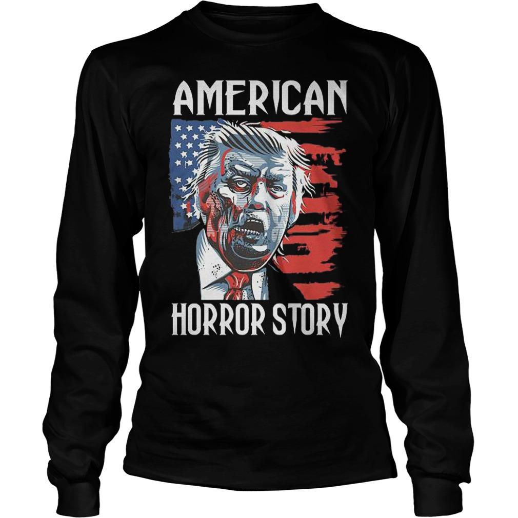 Halloween Trump Zombie American Horror Story Shirt Hoodie Sweater