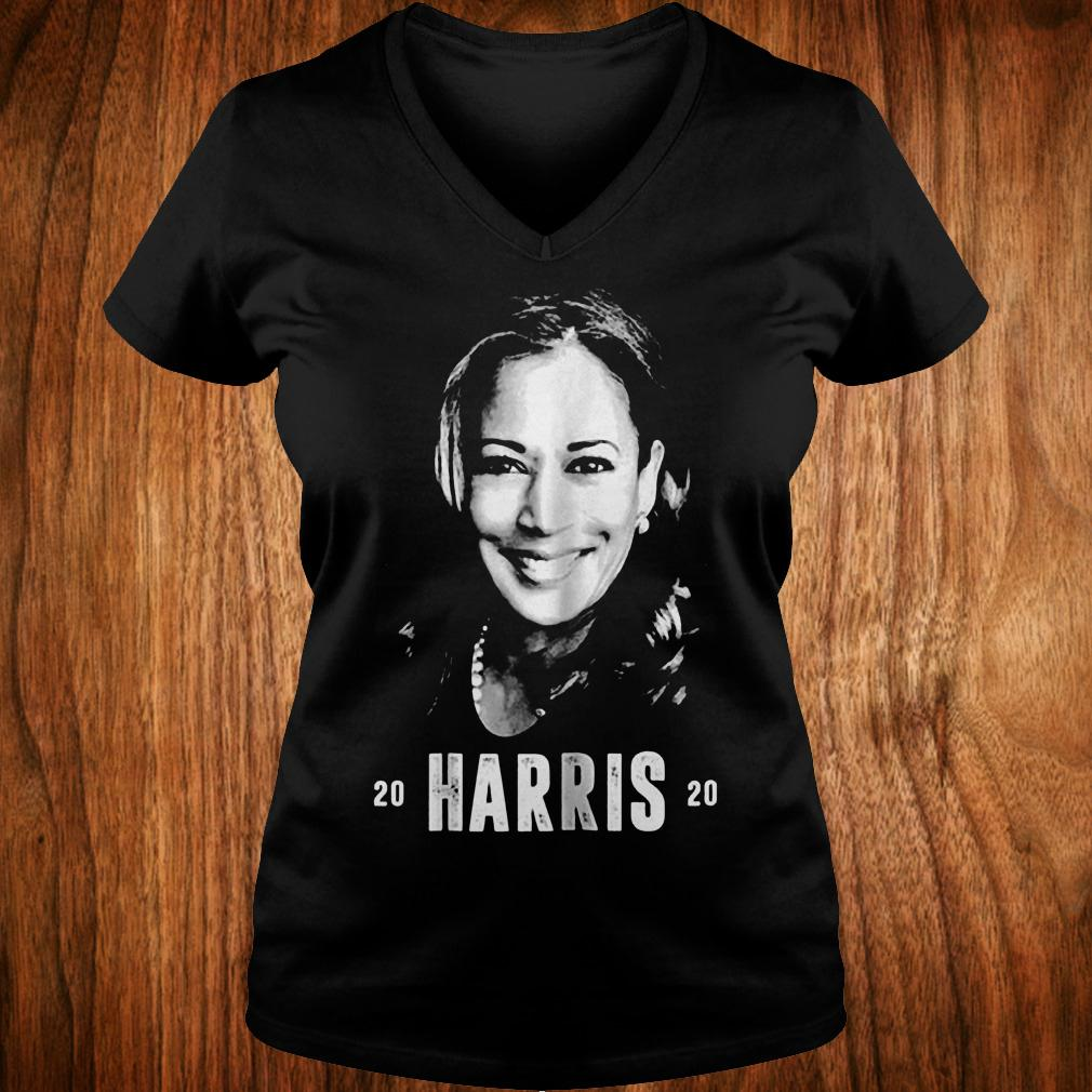 Kamala harris 2020 for president shirt Ladies V-Neck
