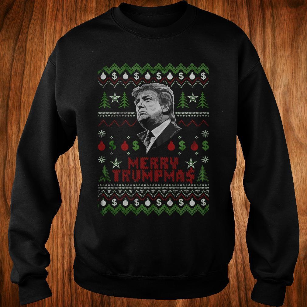 Merry Trumpmas ugly Christmas Donald Trump shirt