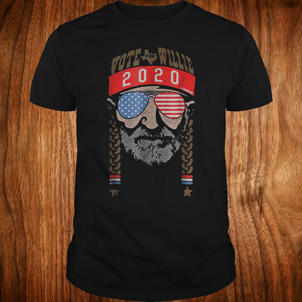 Willie Nelson Tour Schedule 2020 Vote For Willie Nelson 2020 shirt, hoodie, sweatshirt unisex, sweater