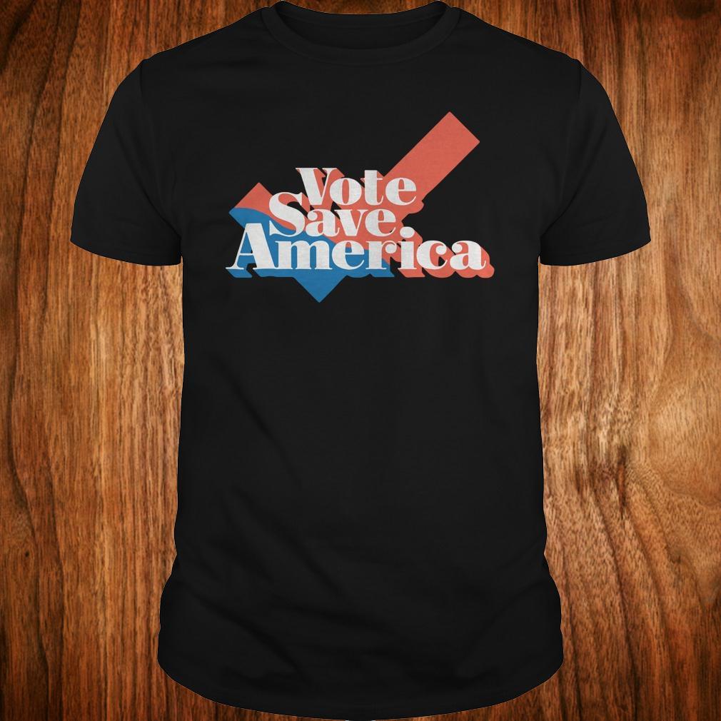 Vote save america shirt Classic Guys / Unisex Tee