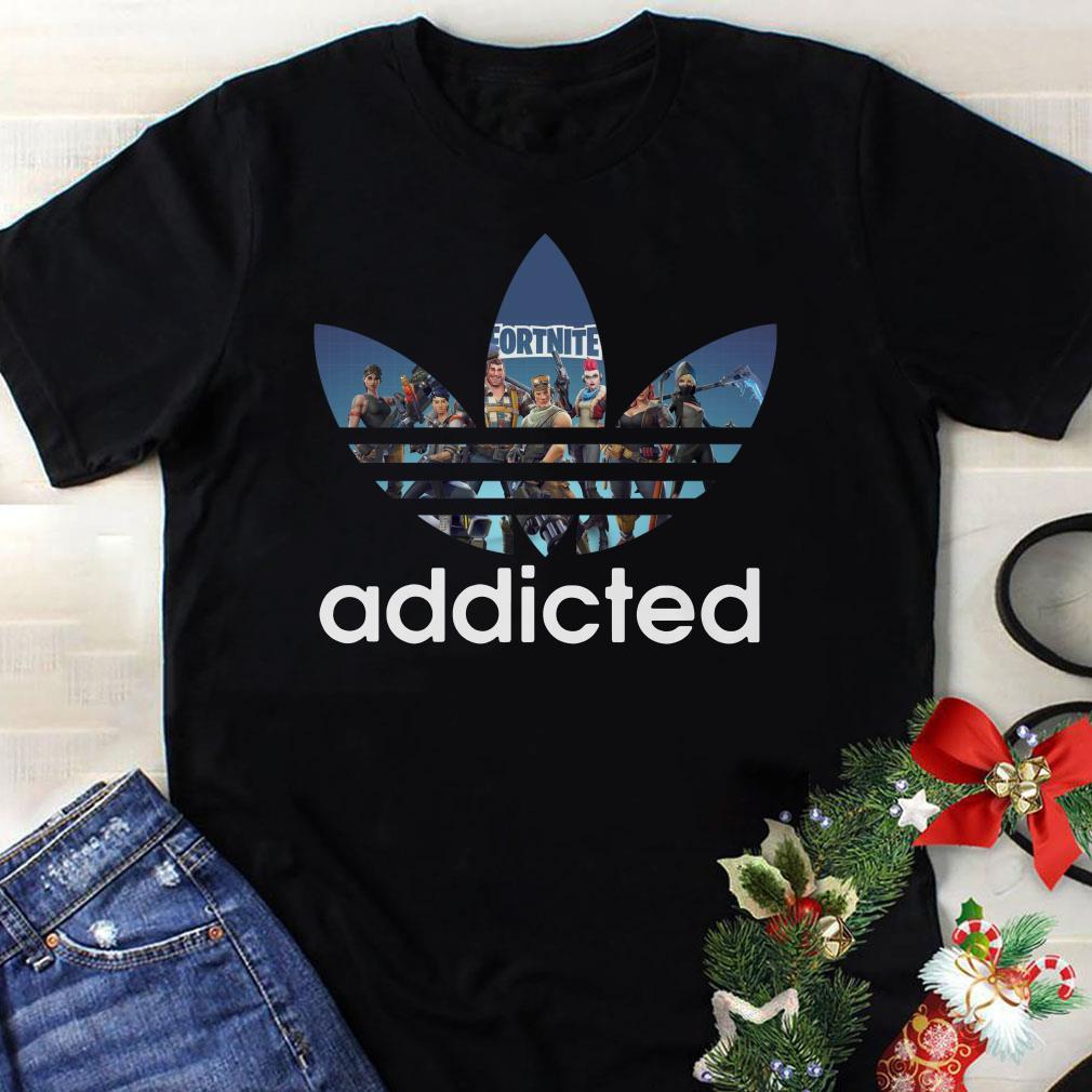 Adidas Fortnite addicted shirt 1