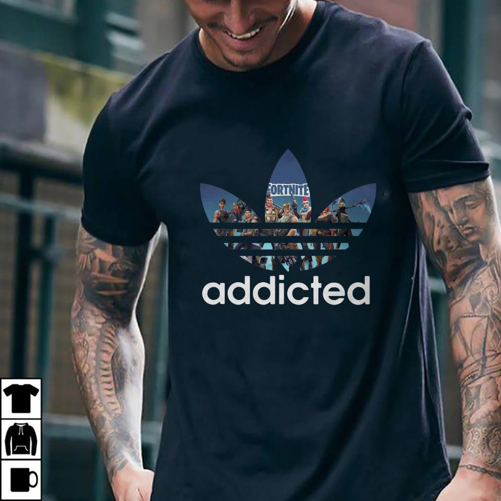 - Adidas Fortnite addicted shirt