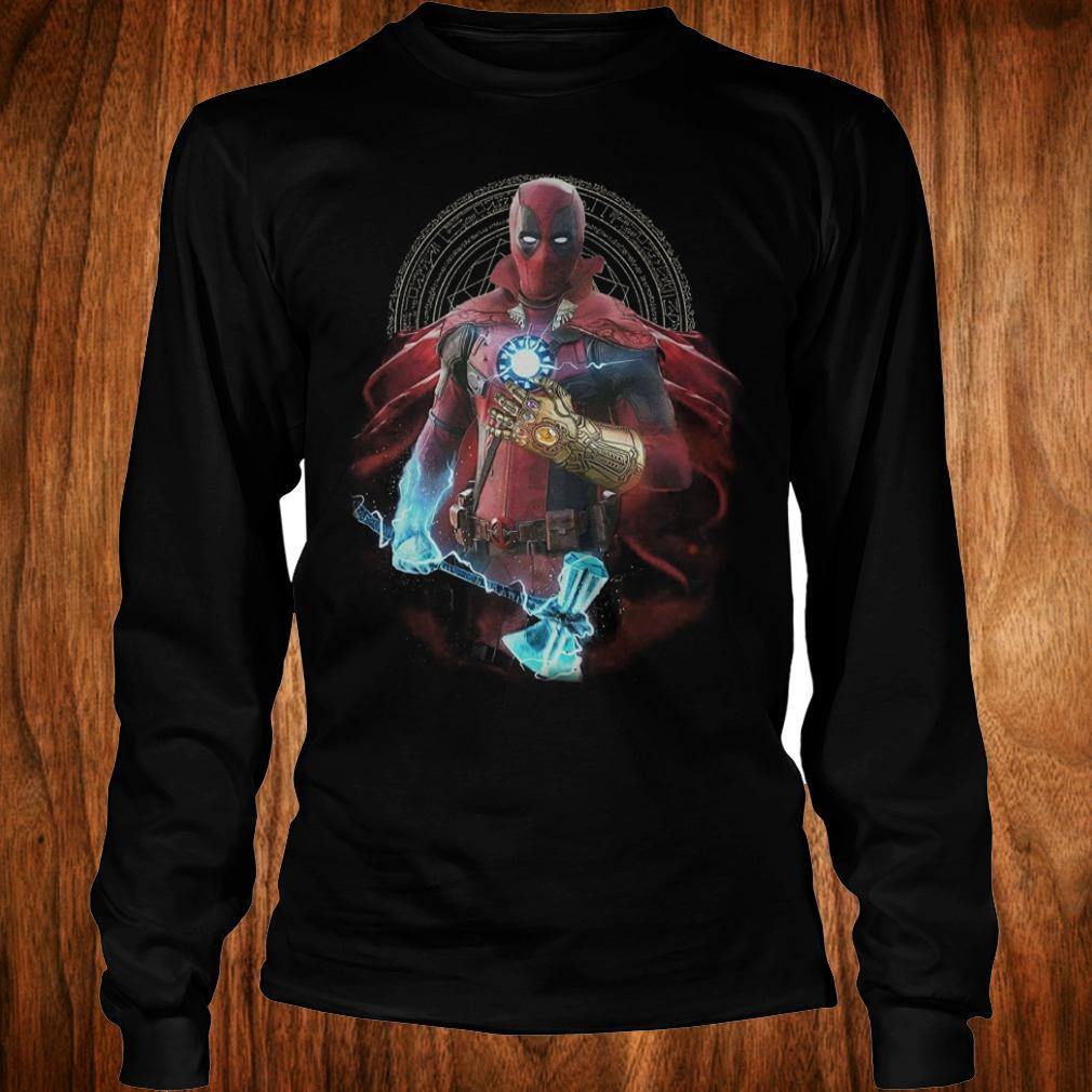 - Avengers Infinity Deadpool Doctor Strange Iron Man Thanos Thor shirt