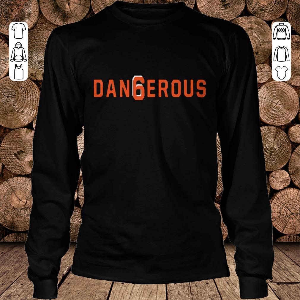 best website fe3e2 d82ba Baker Mayfield Dan6erous 6 Browns dangerous shirt