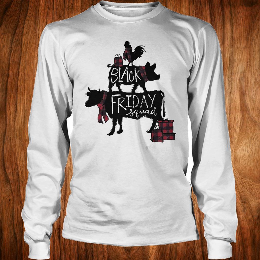 Black friday squad shirt Longsleeve Tee Unisex