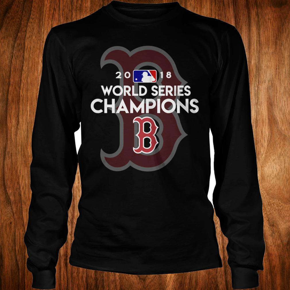 Boston Red Sox world series champions shirt Longsleeve Tee Unisex