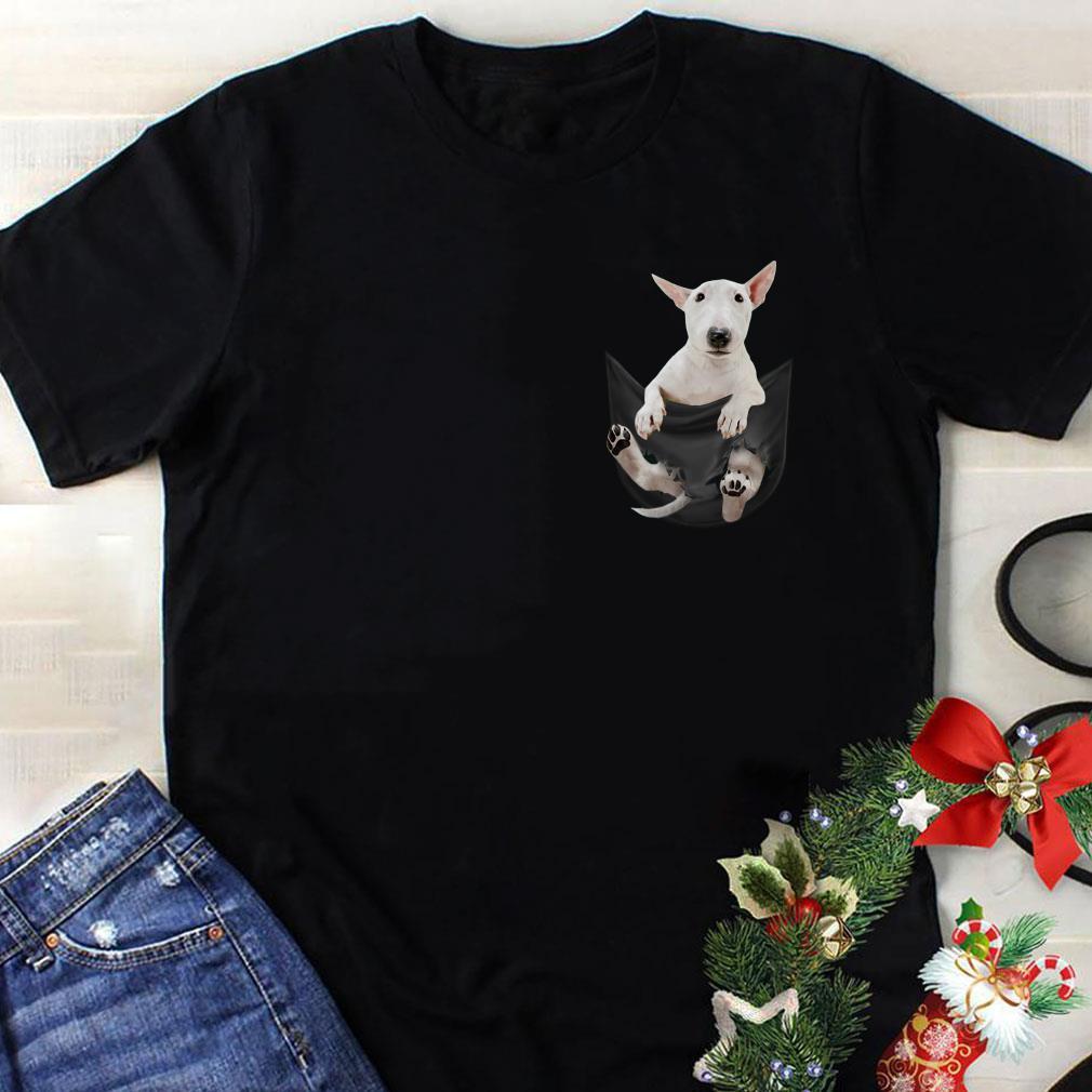 Bull Terrier in Pocket shirt 1