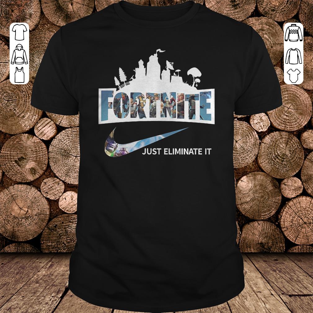 Fortnite just eliminate it shirt 1
