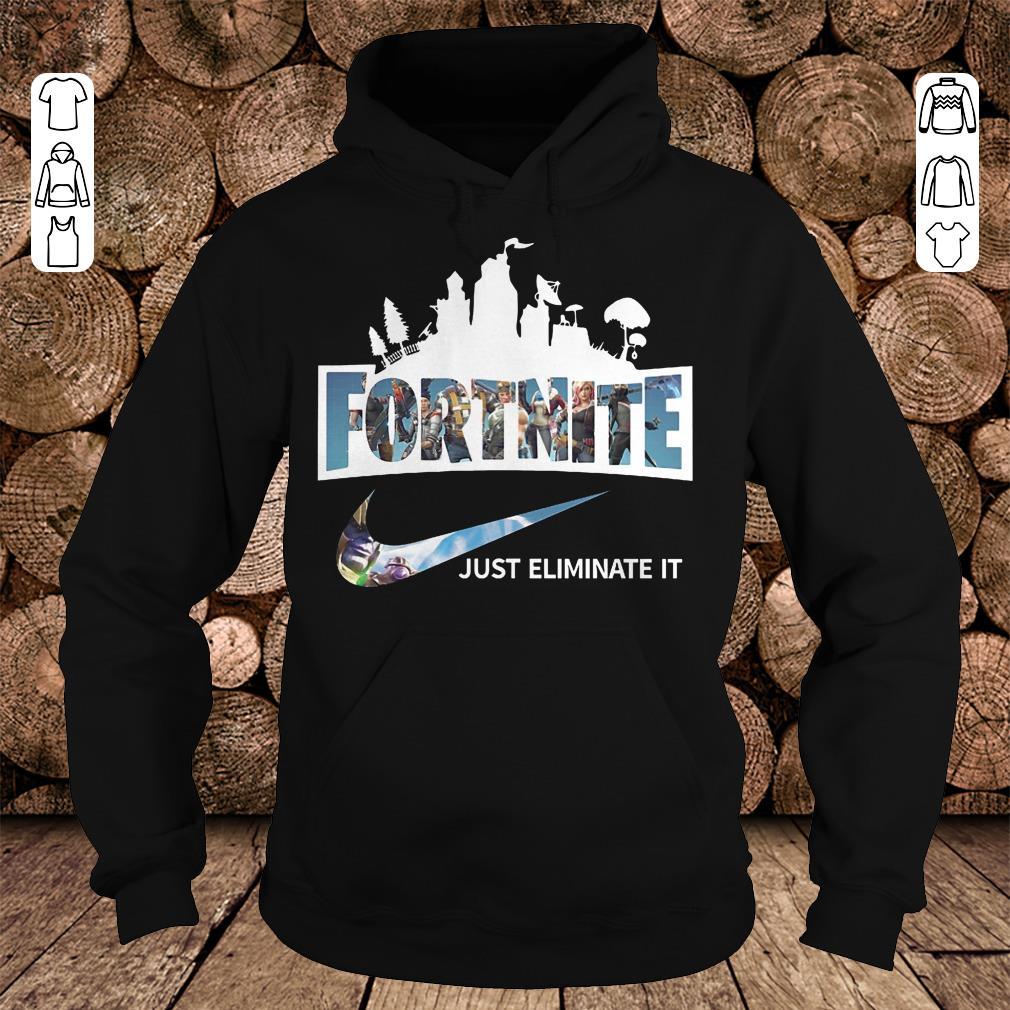 Fortnite just eliminate it shirt Hoodie