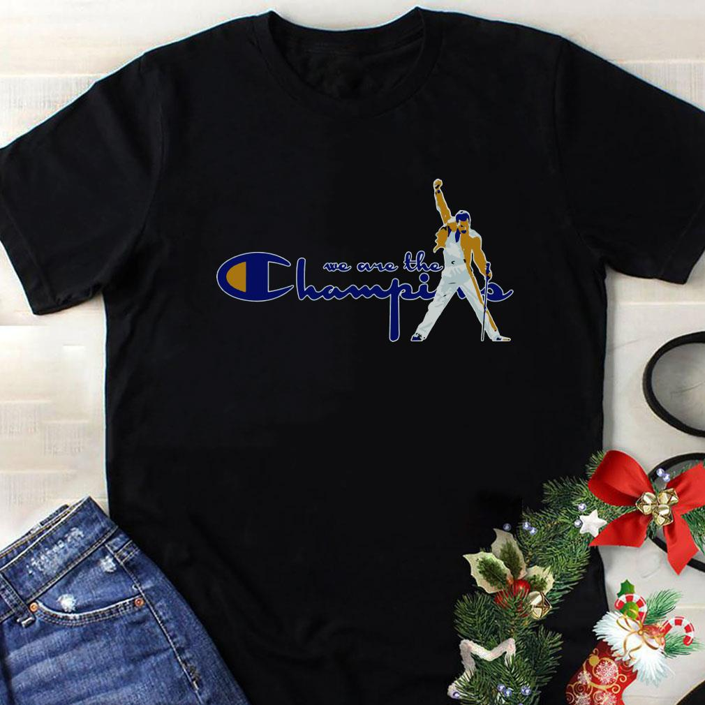 code promo 30c25 7c7d9 Freddie Mercury We are the champions shirt