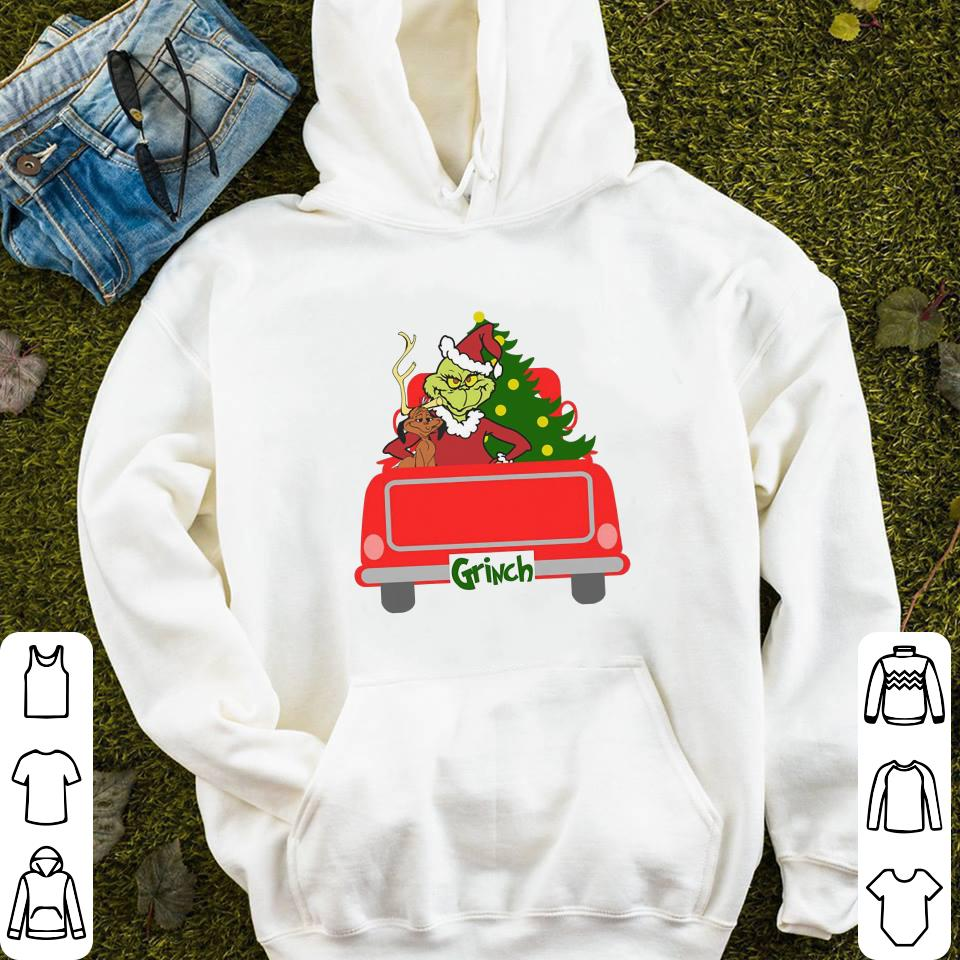 https://mypresidentshirt.com/images/2018/11/Ginch-with-dog-christmas-tree-red-truck-shirt_4-2.jpg