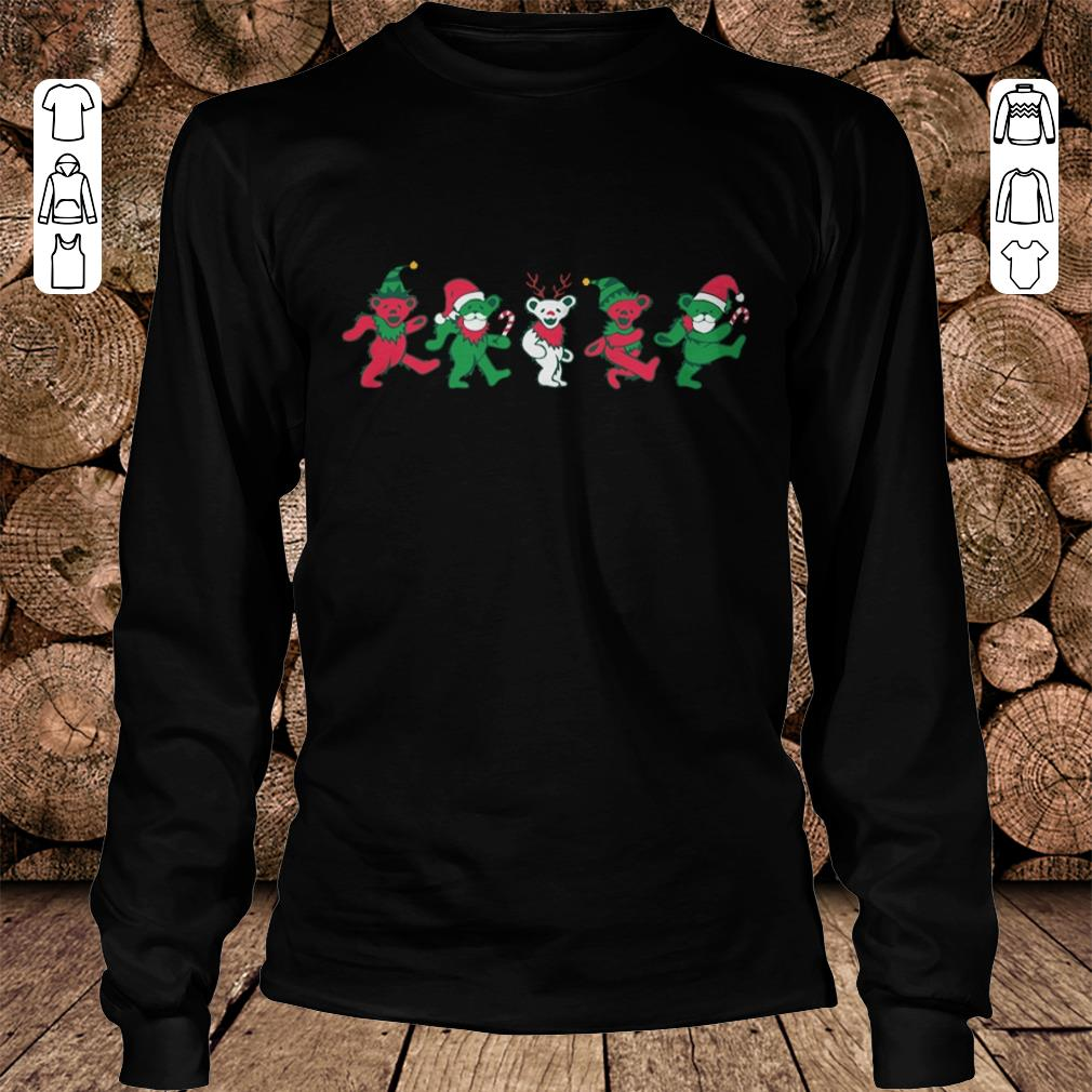 Grateful dead dancing bears shirt Longsleeve Tee Unisex