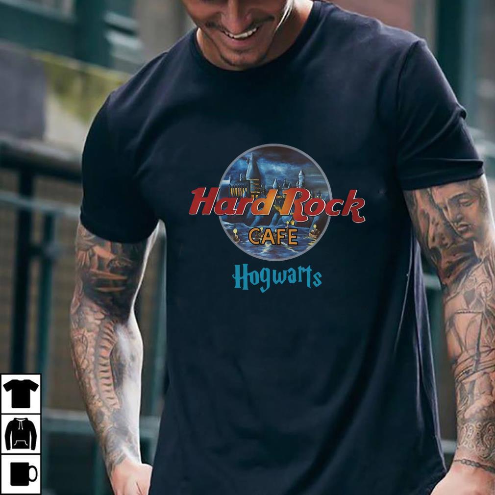Harry Potter Hard Rock cafe Hogwarts shirt 1