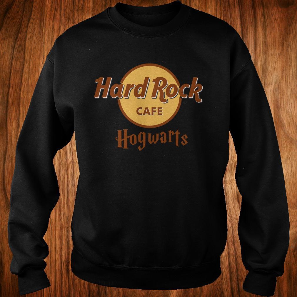 Harry Potter hard Rock cafe Hogwarts shirt