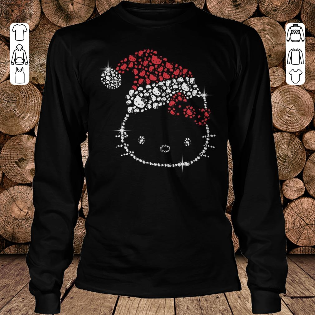 - Hello Kitty Santa Hat Rhinestone shirt