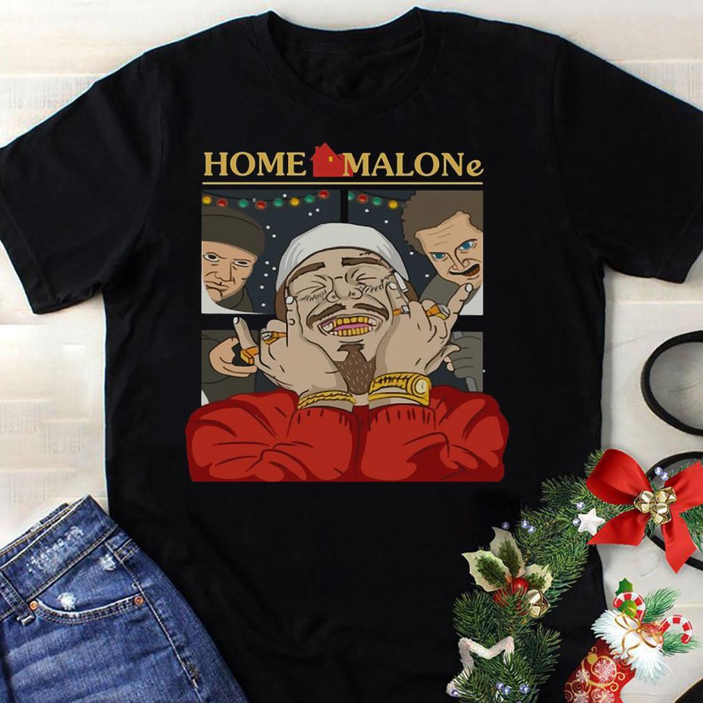 Home Alone and Post Malone Mashup shirt 1