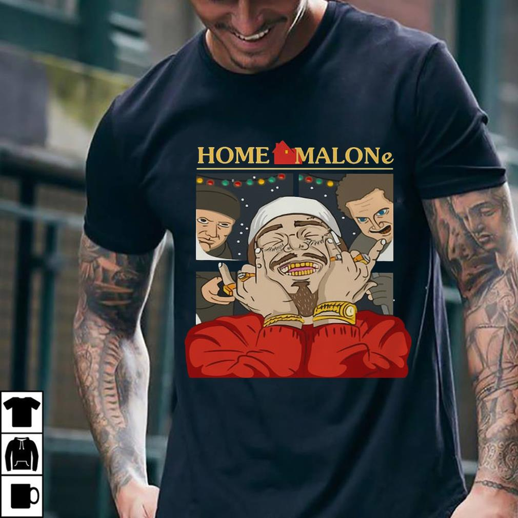 Home Alone and Post Malone Mashup shirt 2