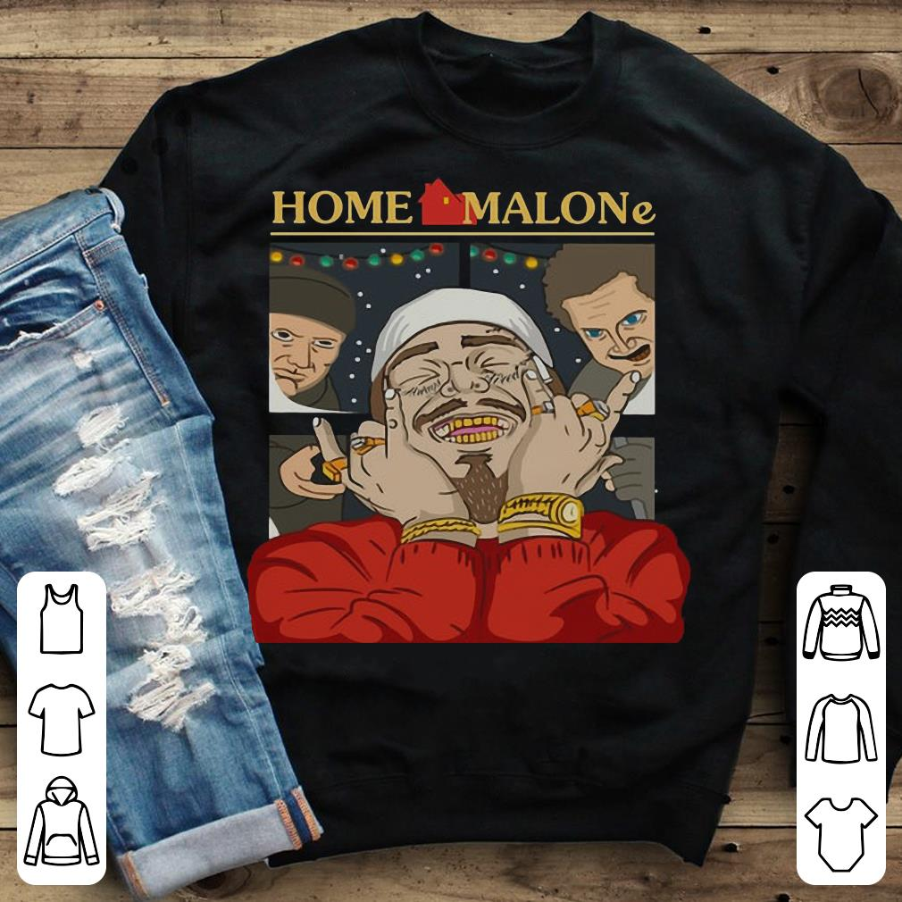 - Home Alone and Post Malone Mashup shirt
