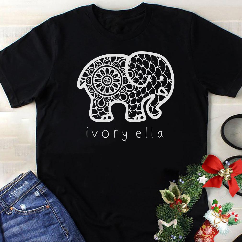 - Ivory ella elephant shirt