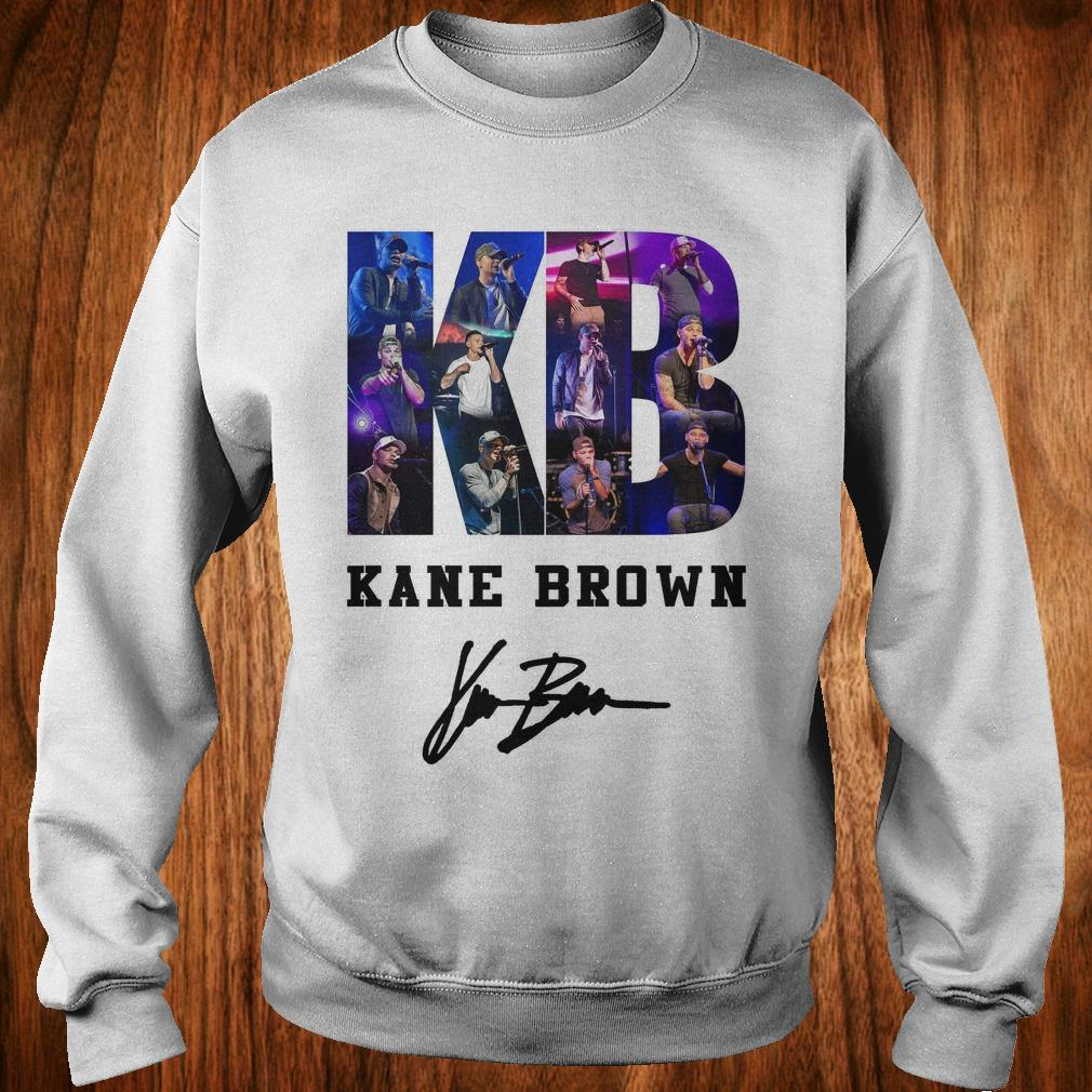 - Kane Brown Signed Autograph shirt